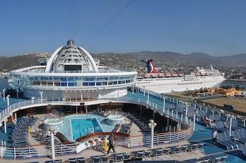API Ensenada The Ruby Princess Cruise Dock For The First Time To - Cruise to ensenada
